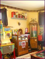 Come reminisce and relax in our antique Game Room